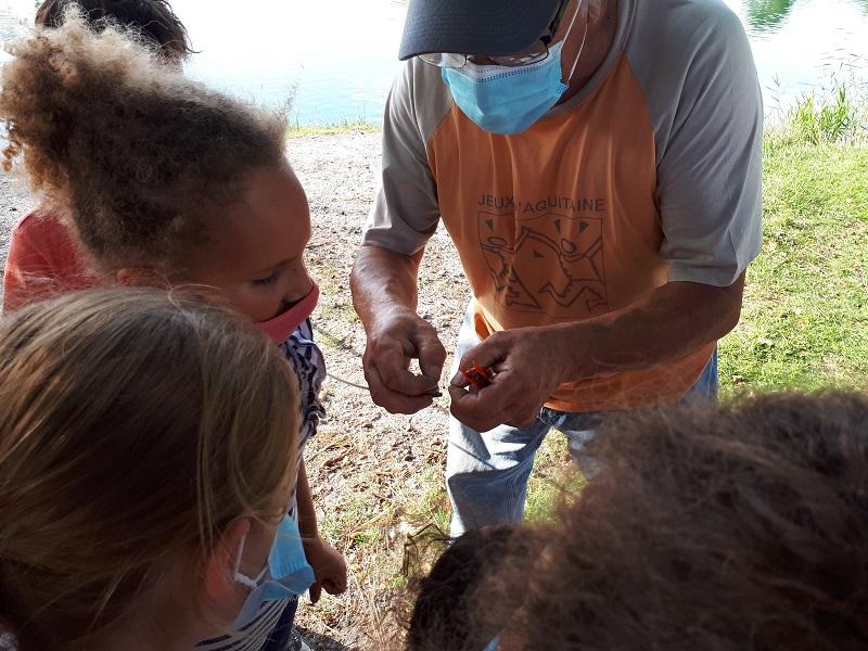 Initiation pêche avec l' Ecole Multi Activité